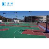 Corte al aire libre de la PU del silicio para el baloncesto/el tenis/Vollyball/el bádminton