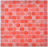 Azulejo de mosaico de la cocina de la pared de cristal
