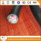 Base de cobre del alambre 600V 4 de Soow de la puerca del conductor UL62