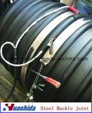プラスチック管の帯の溶接まっすぐな接合箇所の電子融合ベルト