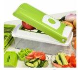Ferramentas da cozinha que desbastam o interruptor inversor plástico vegetal da salada
