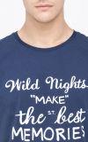 T-shirt mince fait sur commande d'ajustement d'impression de coton d'hommes de modèle neuf