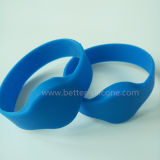 Bracelete Ultralight do silicone de MIFARE RFID para o hospital