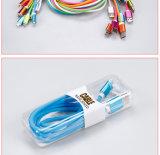 USB--Boa qualidade com um cabo claro azul do USB do telemóvel para Samsung