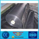 Membrane au sol de géotextile de tissu tissée par pp de couverture