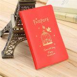 簡単な旅行ID&Documentのホールダーのパスポートカバー