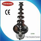 Machine de fontaine de chocolat d'utilisation de mariage d'usager d'acier inoxydable