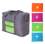 旅行大きいサイズのFoldable荷物袋は記憶の機内持込のDuffle袋に着せる