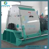 hölzerne 1-5t Hammermühle-Zufuhr-hölzerne zerquetschenmaschine