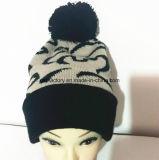 Qualität gestickter Hüte Soem-Jacquardwebstuhl-strickender Hut