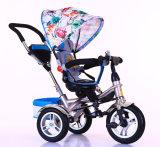 Do carrinho de criança por atacado do triciclo do bebê de China passeio ao ar livre dos miúdos dos brinquedos no Pram do carro