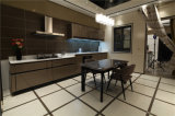 2016 beëindigt het Onzichtbare Handvat Welbom, Hoge Glans Moderne Europese Witte Keukenkast