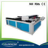 Acier inoxydable 1325 de coupure de machine de découpage de laser en métal de haute précision