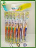 OPP Beutel, der heiße Verkaufs-Erwachsen-Zahnbürste packt