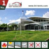 Paviljoen van de Cabine van de Tent van de Tentoonstelling van de Tent van de Luifel van regendichte Markttenten het Witte 4X4m van het Paviljoen