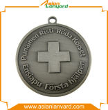 Medaglia del premio di sport del medaglione del metallo dell'oro
