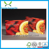 Rectángulo de encargo del alimento congelado de la alta calidad que empaqueta para el alimento