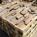 Pedra natural da parede do revestimento do Mocha do Sandstone (SMC-FS047)