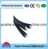 Vente chaude en câble d'ABC de l'Inde, câble empaqueté aérien fait par le câble de Henan Huatai