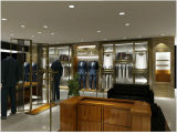 Vêtements d'homme faits sur commande Shopfitting, vêtement d'hommes/vêtement/dispositifs d'étalage mémoire de chaussures