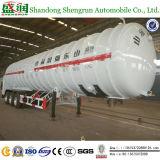 공장 트레일러 56000 리터 반 세 배 차축 액화천연가스 탱크