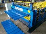 Hoja de acero de doble techo de la máquina para la toma de Materiales de Construcción