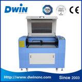 Máquina de gravura Desktop da estaca do laser do CO2 do CNC da venda para o preço dos materiais do metalóide