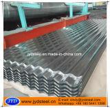 曲げられた電流を通された鋼板または亜鉛屋根ふきシート