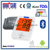 Bluetooth 3-Color Backlit Digital ArmSphygmomanometer (BP 80JH-BT)