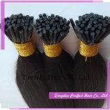 Cabelo italiano da queratina da extensão do cabelo humano da queratina