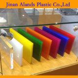 Acrílico del molde con la protección del papel adhesivo