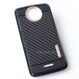 Caso del diseño TPU de la fibra del carbón para Motorola Moto C más