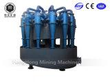 Idrociclone per la preparazione di minerale metallifero che classifica, ordinante, ispessentesi e Deslime