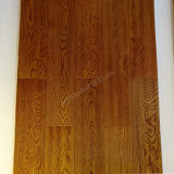 Plancher en bois de chêne de plancher conçu par plancher de chêne avec la couleur de blé