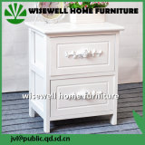 2引出しが付いている木製の寝室の引出しの箱の食器棚(W-CB-421)
