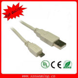 USB 2.0 een Male aan Sync Data 5pin Micro USB Cable