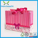 Promotion Einkaufsträger Kraft Geschenk-Papierbeutel Drucken mit Griff