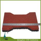 mattonelle della stuoia del pavimento della gomma di 25mm per il cavallo