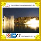 Fontana di acqua di galleggiamento di musica del fiume con il sistema di controllo avanzato
