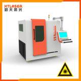 Польностью Enclosed автомат для резки 500W 750W лазера волокна листа металла стали углерода нержавеющей стали