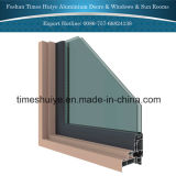 緩和されたガラスおよび薄板にされたガラスが付いているアルミニウムウィンターガーデン