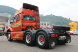 La casilla larga de FAW /Jiefang/de largo olfatea/de largo el carro principal del alimentador de la pista del carro del alimentador de 420HP 6X4