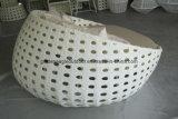 PEの広い藤の円形のソファー、屋外の家具(GP0001)