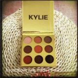 新しい到着の金Kylie Kyshadow 9カラーアイシャドウのPalletteのアイシャドウPallette