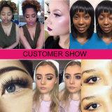Vente en gros de cils épilés Extensions Hot Sale Silk Mink Lash False Eyelashes Customized Label