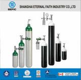 Cilindro de gás de alumínio do oxigênio Mt-2/4-2.0 médico portátil pequeno