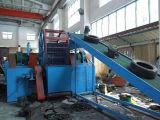 Gomma residua che ricicla riga/polvere di gomma che fa macchina/grumo di gomma macchina di gomma della polvere