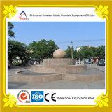 Fontana di acqua dello stagno del marmo di figura del fiore per la decorazione