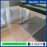 PVC Transparent Mat Sheet de China Supplier 1mm Rigid Clear Plastic