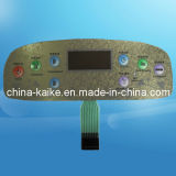 Memrane teclado con relieve Key